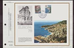 """Monaco Jour D'émission Du 2 Mai 1978 """" Europa 78 """" - Monaco"""