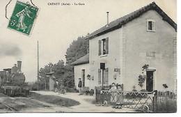CRENEY - La Gare - Autres Communes