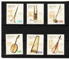 IMO42 M A C A U 1986 Michl 552/57 ** Postfrisch  SIEHE ABBILDUNG - Briefmarken