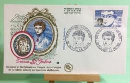 Évariste Galois - 92 Bourg La Reine - 10.11.1984 - FDC 1er Jour Coté ..€ - FDC