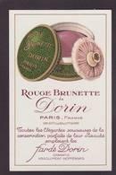 CPA Publicité Parfum Beauté Publicitaire Réclame Non Circulé DORIN - Advertising