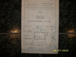 Topografische / Stafkaart Van Dendermonde - Puurs (Moerzeke - Baasrode - Liezele - Lippelo - Malderen - Buggenhout) - Topographische Karten