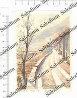 VILLAR PELLICE - Immagine Ritagliata Da Pubblicazione Originale D'epoca - Victorian Die-cuts