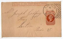 Grande Bretagne - Entier Postal  De LONDRES   Pour LUTON....... Cachet - Entiers Postaux