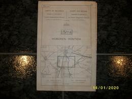 Topografische / Stafkaart Van Hoboken - Kontich (Wilrijk - Edegem - Hove - Lint - Niel - Schelle) - Cartes Topographiques