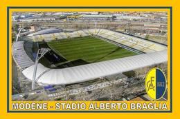 CP.STADE DE FOOTBALL. MODENE   ITALIE   STADIO  ALBERTO  BRAGLIA     #  CS. 488 - Football