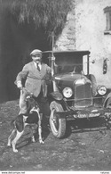 Automobile Non Identifiée  - Photo Ancienne Originale - Cars