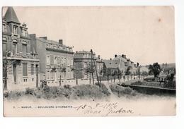 Namur - Boulevard D Herbatte - 1906 - Belgique