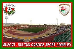 CP.STADE DE FOOTBALL. MUSCAT   OMAN  SULTAN QABOOS  SPORT  COMPLEX     #  CS. 489 - Fútbol