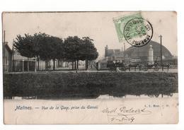 Malines Mechelen - Vue De La Gare Prise Du Canal - 1905 - Belgique