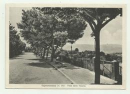 CUPRAMONTANA - VIALE DELLA VITTORIA  - VIAGGIATA FG - Ancona