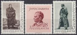 YUGOSLAVIA 693-695,unused,Josip Broz Tito - 1945-1992 Socialistische Federale Republiek Joegoslavië