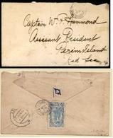 FRC - Djibouti. 1912 (6 Aug.). DJIBOUTI - SAUDI ARABIA. Djibouti (French Somalia) To Perim Island/Red Sea. Env.franked O - France (former Colonies & Protectorates)