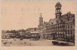Mons Grand'Place Et H^tel De Ville  1951 Cachet 'Utilisez SABENA' - Mons