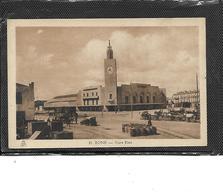 Afrique-algérie-BONE-( Annaba)-Une Vue Animée De L'Extérieur De La GARE D'ETAT - Annaba (Bône)
