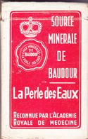 Source Minérale De Baudour La Perle Des Eaux - 54 Cartes