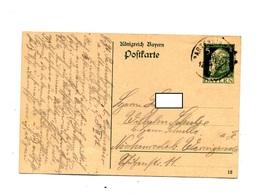 Carte Postale 5 Empereur Cachet Partenkirchen - Bayern (Baviera)