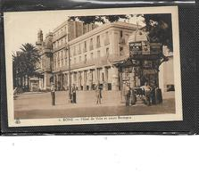 Afrique-algérie-BONE-( Annaba)- Beau Plan Animé Du KIOSQUE à JOURNAUX Cours BERTAGNA-L'Hôtel-de-Ville- - Annaba (Bône)