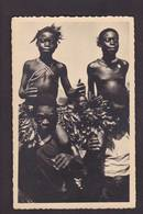 CPSM PAULEAU Cameroun Non Circulé Voir Scan Du Dos M'baka Mandja Initiation Ethnic Nu Féminin Nude - Cameroon