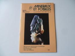 REVUE  MINERAUX ET FOSSILES N° 55/56 - Minerals