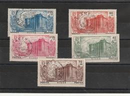 Niger Revolution 69/ 73 Oblitération  Centrale Niamey 31 Decembre 1939 Sauf Le 70 Deuxieme Choix Cote Que 4 Timbres 80 - Used Stamps