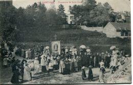 N°1518 T -cpa Saint Pair -procession De Saint Gaud- - Saint Pair Sur Mer
