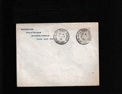 Paris Exposition Philatélique Internationale Paris Juin 1913   (913) - Poststempel (Briefe)