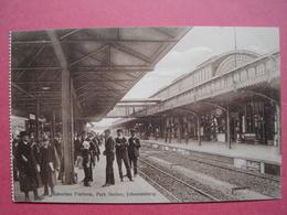 Johannesburg.    ,,park Station-suburban Platform,,   South Africa. - Afrique Du Sud