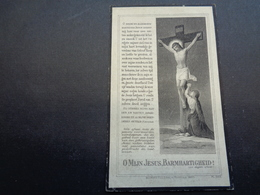 Doodsprentje ( 23 )  Vanlerberghe / Coudron  - Lichtervelde  Handzame  1921 - Décès
