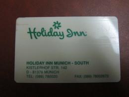 Holiday Inn Munich-South - Cartes D'hotel