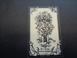 Doodsprentje ( 25 )  Hebbelinck / Coucke  -  Westnieuwkerke   Poperinghe  Poperinge  1901 - Décès