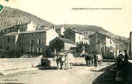 FONDAMENTE  =  Avenue De Cornus    1320 - Dourgne