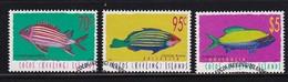 Cocos Islands 1998, Fish Incl. $5 Minr 367-369 Vfu. Cv 10 Euro - Cocos (Keeling) Islands