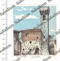 SCARPERIA E SAN PIERO - Immagine Ritagliata Da Pubblicazione Originale D'epoca - Victorian Die-cuts