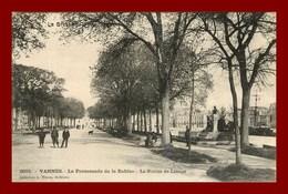 Vannes * La Promenade De La Rabine * Collection Waron * Recto Et Verso - Vannes
