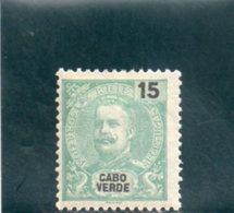 CAP VERT 1903 * - Islas De Cabo Verde