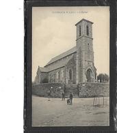22-KERMARIA-SULARD-( La Roche Derrien)-Une Vue Animée De L'EGLISE - Autres Communes