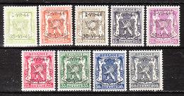 PRE520/28**  Petit Sceau De L'Etat - Année 1944 - Série Complète - MNH** - LOOK!!!! - Typo Precancels 1936-51 (Small Seal Of The State)