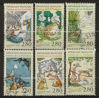 FRANCE:, Obl., N° YT 2958 à 2963, Série, TB - Frankreich