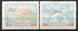 GRECE (Royaume) - 1926 - PA - N° 1 Et 3 - (Lot De 2 Valeurs Différentes) - (Hydravion Et Sujets Divers) - Neufs