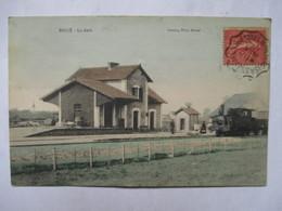 BOUCE  -  LA GARE   -   TRAIN   -  CONVOYEUR    MONTARGIS  A  St. GERMAIN DES FOSSES   -       TTB - Francia