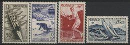 MONACO POSTE AERIENNE N° 32 à 35 Cote 103 € Neufs ** (MNH). Série Complète TB - Luftfahrt