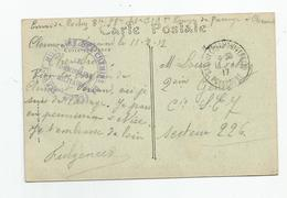 Marcophilie Cachet Service Militaire Des Chemins De Fer Clermont Ferrand 63 Pour Secteur 226 2e Genie - Postmark Collection (Covers)