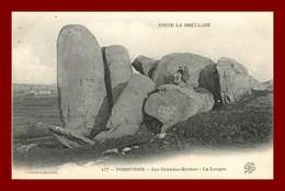 PORSPODER * LES GRANDES ROCHES * édition Andrieu  * Recto Et Verso - France