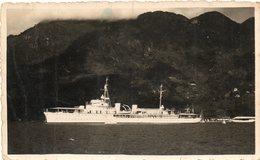 En L Etat Voir 2 Scans....aviso Bougainville...en Rade De Mahe Des Eychelles...souvenir D Escale - Seychelles