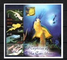Nevis Reptiles MNH -(V-82) - Reptiles & Batraciens