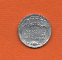 Italie -  1944 - Monnaie De Nécessité  - U.I.T.E. -  GENOVA (  Vale Per Acquisto Di Biglietto A Tariffa Ridotta) - 1861-1946 : Kingdom