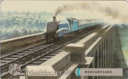 Mercury, MER635, Manchester '94, Steam Celebrity, Train, Unused, Only 1000 Issued, 2 Scans.    20MERA/WC - Reino Unido