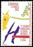 CONGRESO DE CIENCIAS HISTORICAS - AÑO 1990 - Nº EDIFIL 3075 - 1931-Hoy: 2ª República - ... Juan Carlos I