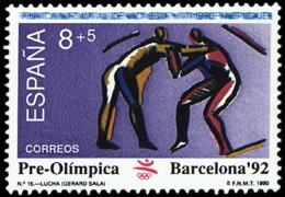 BARCELONA 92 - AÑO 1990 - Nº EDIFIL 3076 - 1931-Hoy: 2ª República - ... Juan Carlos I